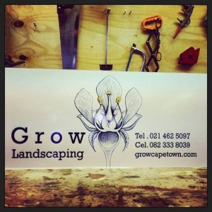 grow landscaping logo